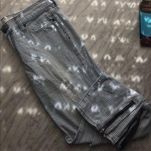 JCREW striped pants